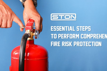 Essential Steps To Perform Comprehensive Fire Risk Protection Infographic