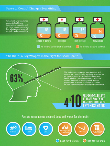 Euro RSCG Prosumer Report Health & Wellness Infographic