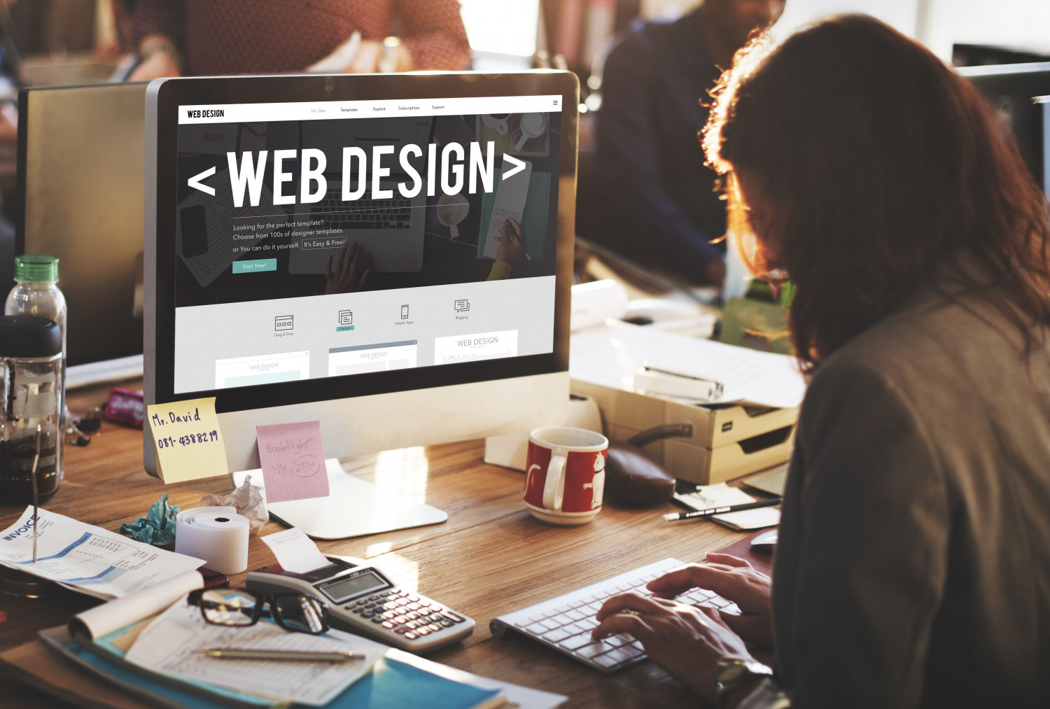 EXCELLENT WEB DESIGN WITHIN YOUR BUDGET AT PROWEAVER Infographic