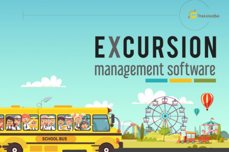 Excursion Management Software from TrackSchoolBus Infographic