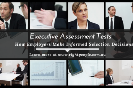 Executive Assessment Tests to Make Informed Decisions Infographic