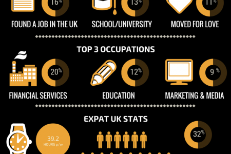 Expat Life In The UK Infographic