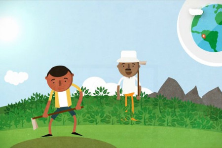 Explainer Video for Peace Corps Infographic