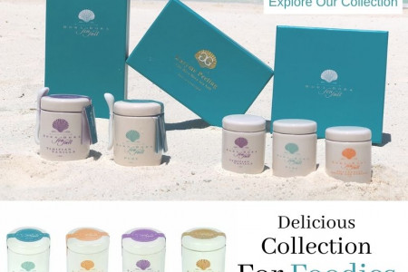 Explore our Flavored Sea Salt Collection Infographic