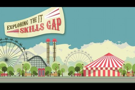 Exploring the IT Skills Gap Infographic