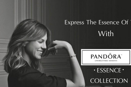 Express the essence of You with Pandora Essence Collection Infographic