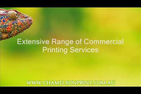 Extensive Range of Commercial Printing Services Infographic