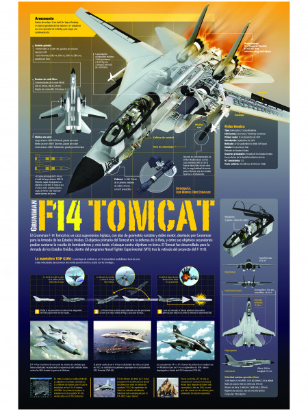 F14A TOMCAT Infographic
