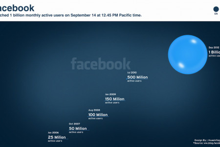 Facebook &  the 1 billion users Bubbles [English] Infographic