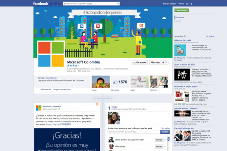 facebook cover Infographic