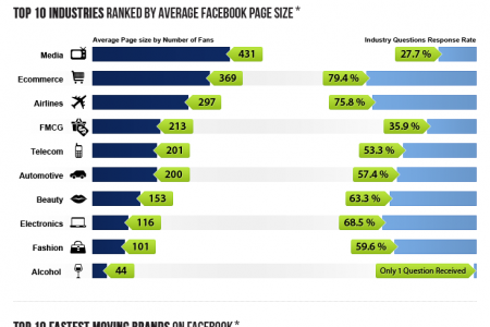 Facebook in the Middle East and North Africa  Infographic