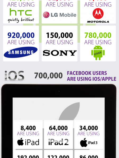 Facebook Mobile Users in Pakistan Infographic