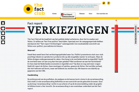 Fact report Verkiezingen Infographic