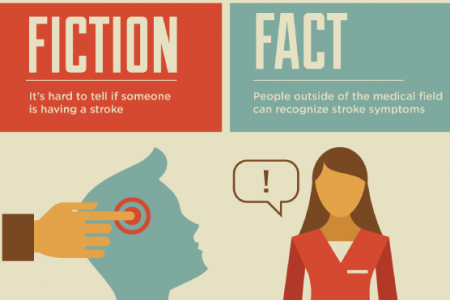 Fact vs. Fiction: The Truth About Stroke Infographic
