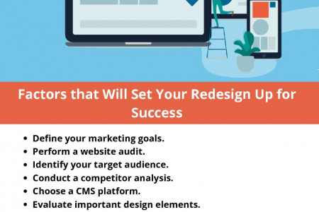 Factors that Will Set Your Redesign Up for Success Infographic