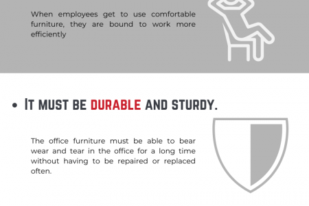 Factors To Consider Before Buying Office Furniture Infographic