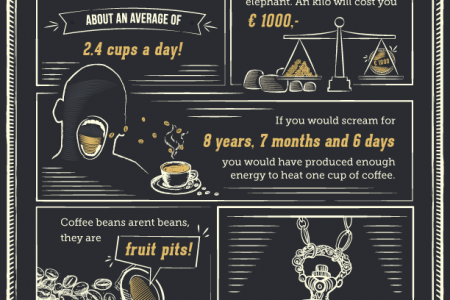 Facts About Coffee - Infographic Infographic