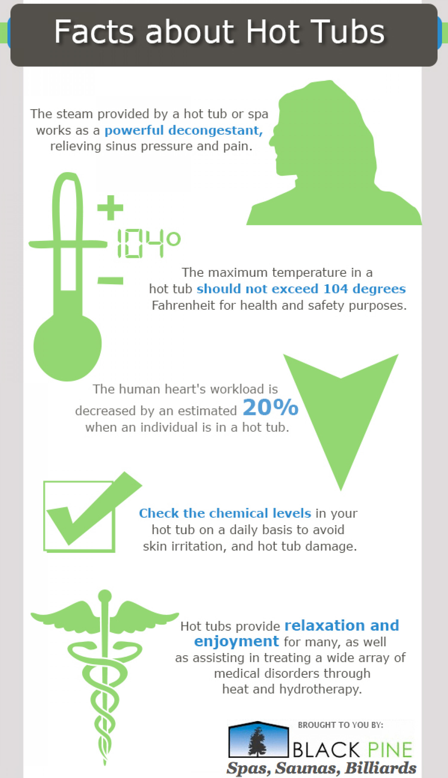 Facts about Hot Tubs Infographic