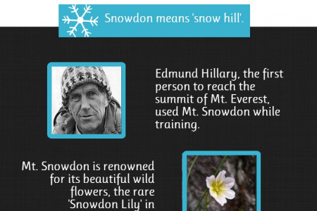 Facts About Mount Snowdon Infographic