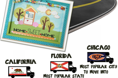 Facts About Moving And Relocation Infographic