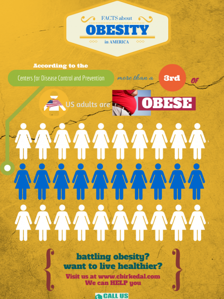 Facts About Obesity in America Infographic