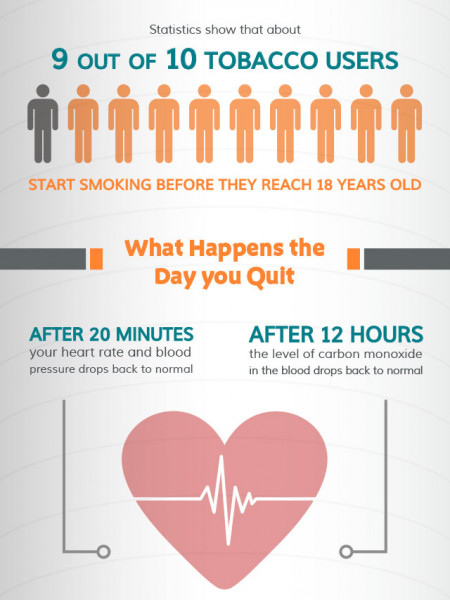 Facts About Smoking Infographic
