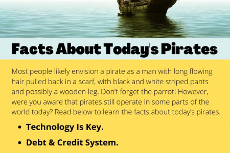 Facts About Today's Pirates Infographic