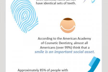 Facts About Your Teeth Infographic
