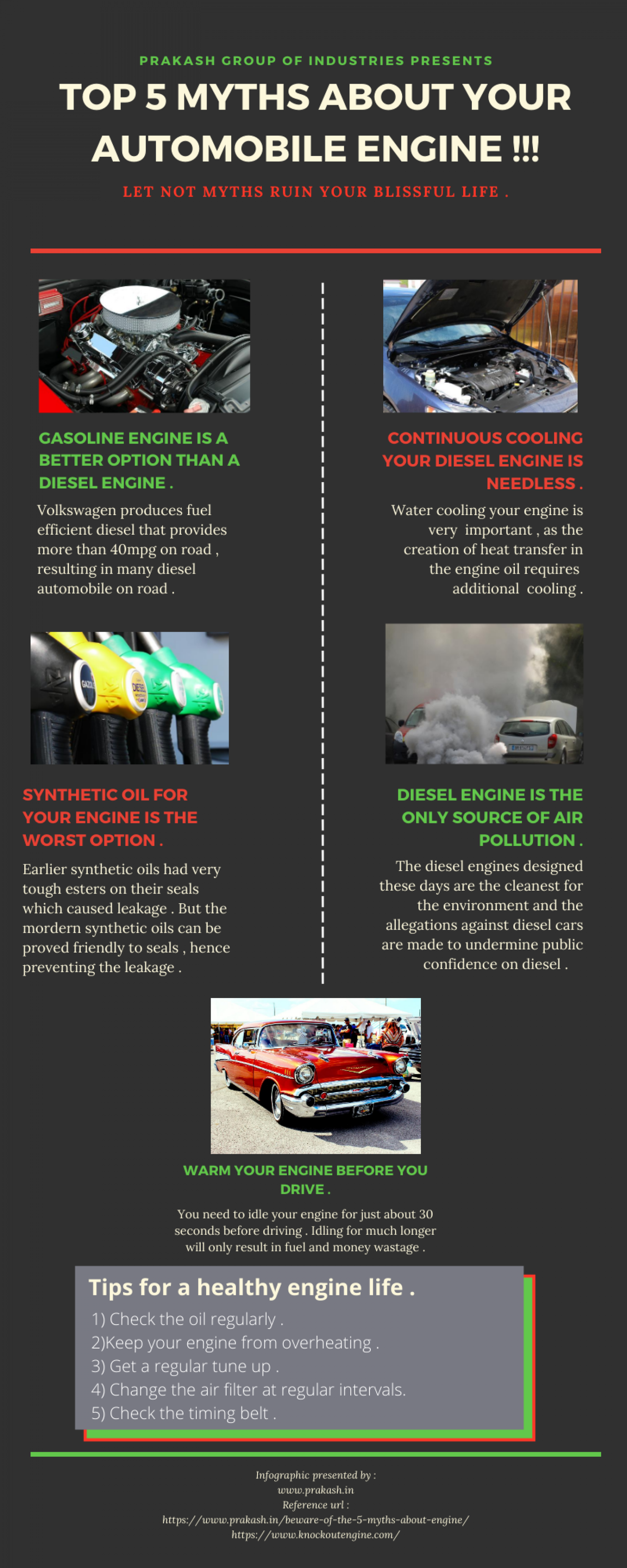 Facts about your vehicle you need to know right away !!! Infographic
