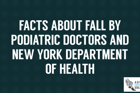 Facts by Podiatric Doctors & New York Department of Health about fall  Infographic