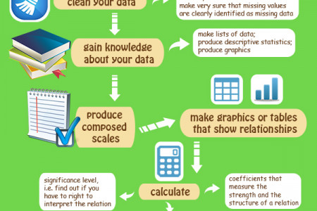 Facts on Analyzing Data Infographic