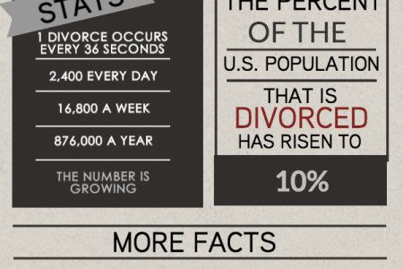Facts on Divorce Infographic