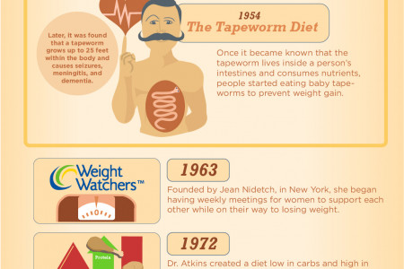 Fad Dieting: America's Obsession With Starving For Attention! Infographic