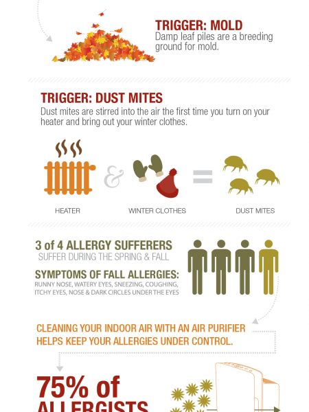 Fall Allergy Triggers Infographic
