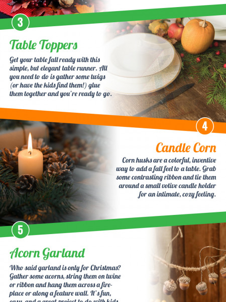 Fall Decor DIY Infographic Will Make You Feel Fall-bulous! Infographic