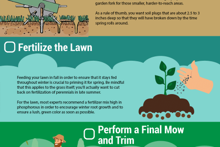 Fall Yard and Landscape Task Checklist Infographic