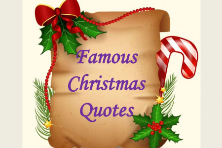 Famous Christmas Quotes Infographic