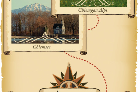 Fantasy Lakes and Mountains Holidays  Infographic