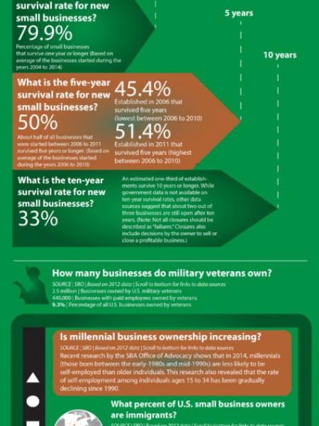 FAQ About US Small Business 2016 Infographic