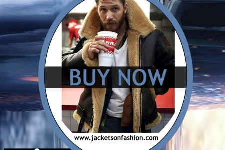 Farrier Tom Hardy Leather jacket Infographic