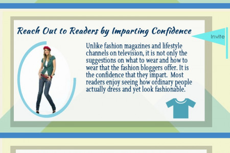 Fashion blogging is no child's play Infographic