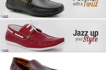 Fashion Footwear - Top Footwear for Summer 2014 Infographic