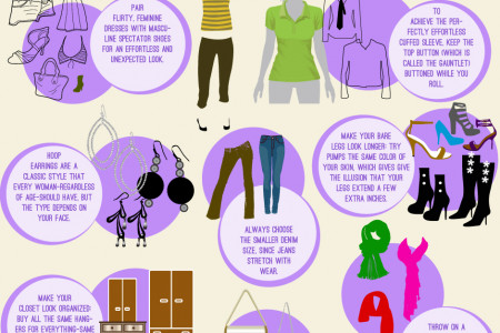 Fashion Tips Infographic