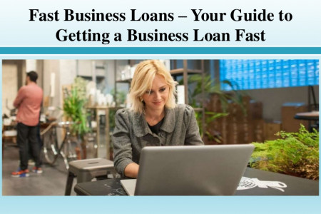 Fast Business Loans – Your Guide to Getting a Business Loan Fast Infographic