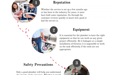 Features to Check in the Plumbers Before Hiring Infographic