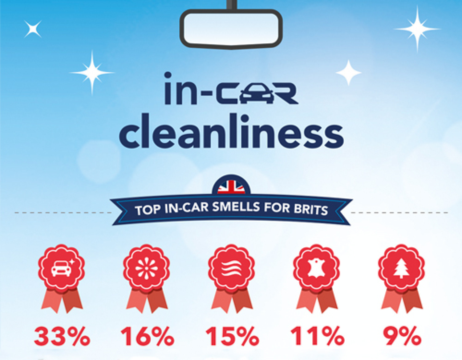 In-Car Cleanliness Infographic