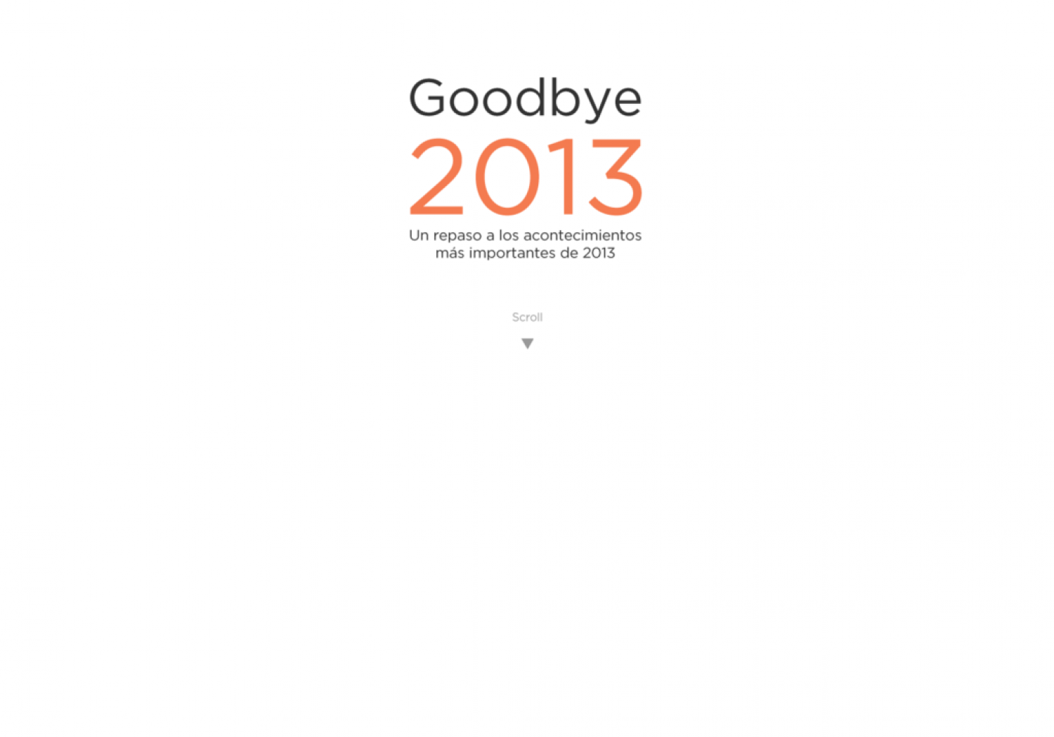 Feebbo Infografphics. Goodbye 2013 Infographic