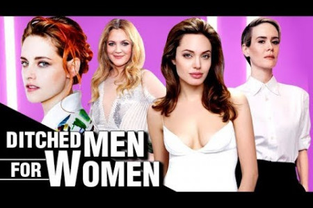 Female Celebrities Who Ditched Their Men For Women Infographic