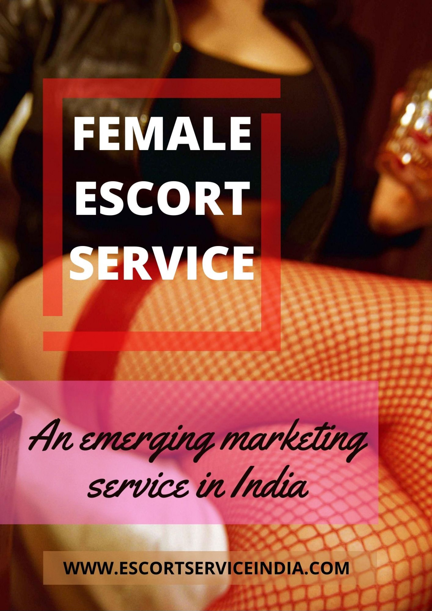 Female Escort Service - an emerging Marketing service in India Infographic