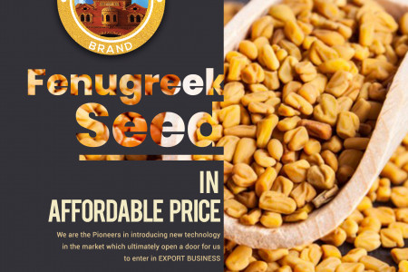 Fenugreek Seed Exporting Services Pakistan Infographic
